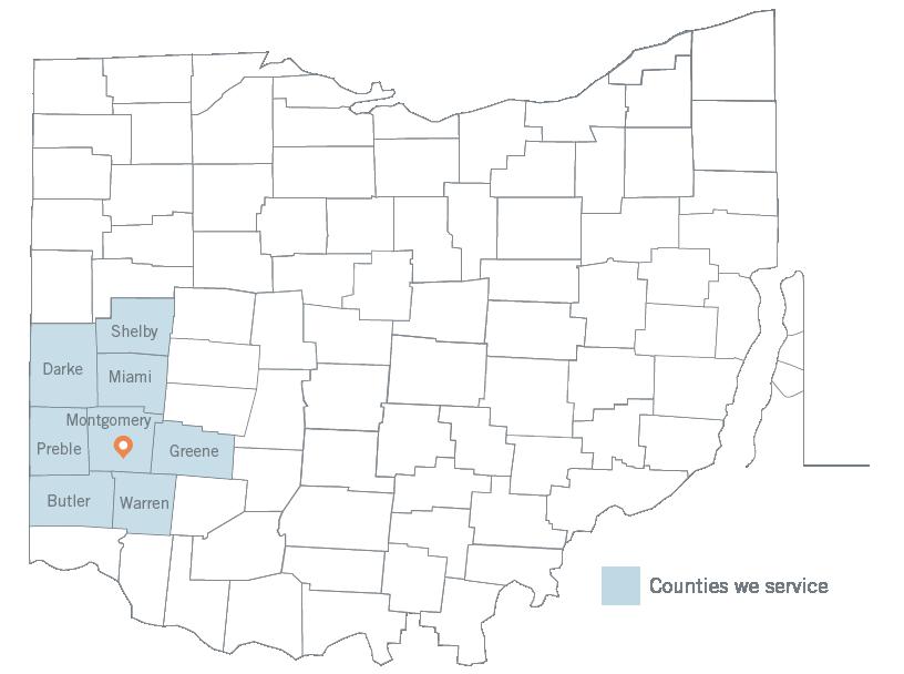 Dayton Service Area